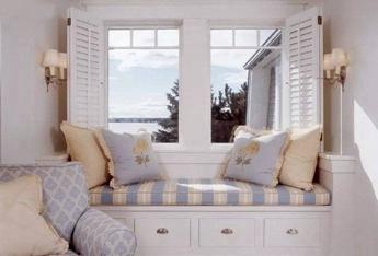 飘窗的多种设计方式——闲暇时光的享受 