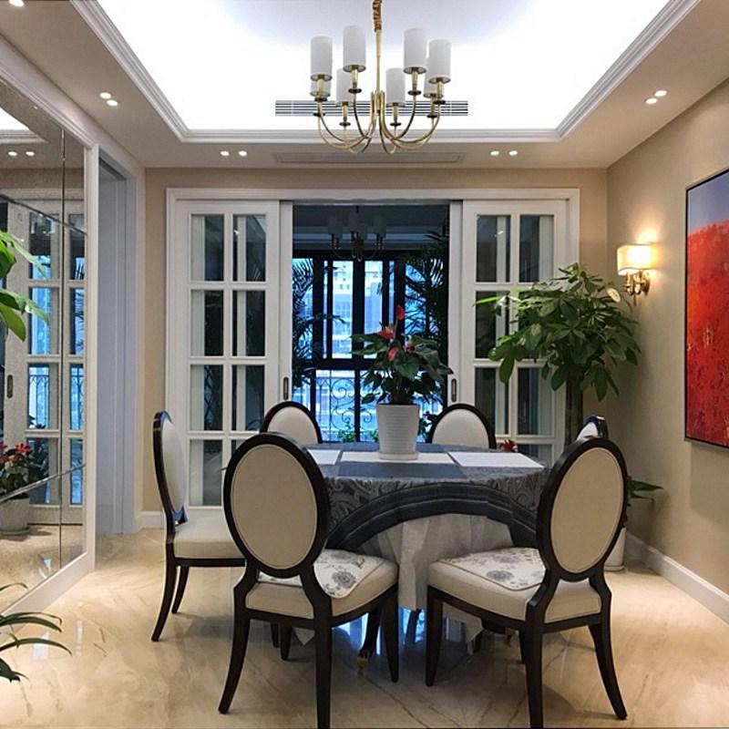 美式客厅灯创意简约乡村全铜吊灯个性温馨浪漫卧室餐厅全铜灯具-tmall.com天猫