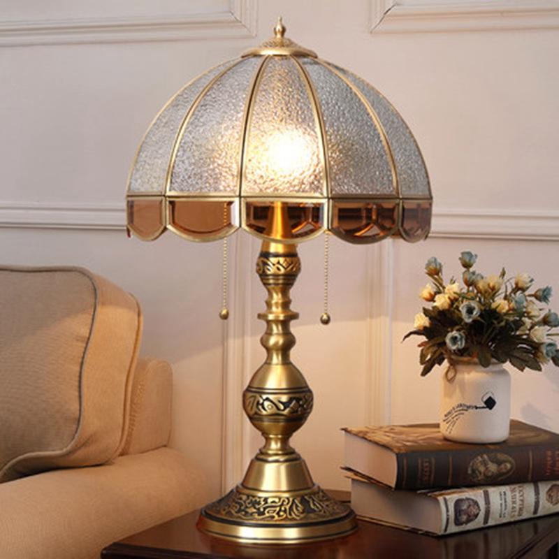 欧式奢华卧室床头灯