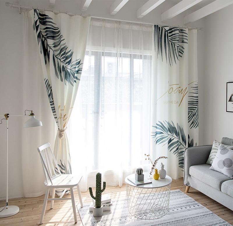 北欧风格清新窗帘
