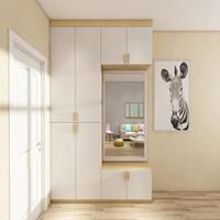 2.2米衣柜要用多少张板材?2.2米衣柜内部如何布局?