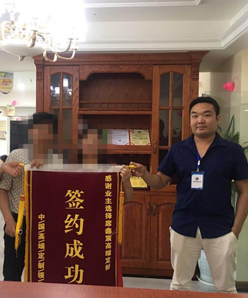 来自《锦巷兰台》的李姐对席鑫宸全屋定制的评价!