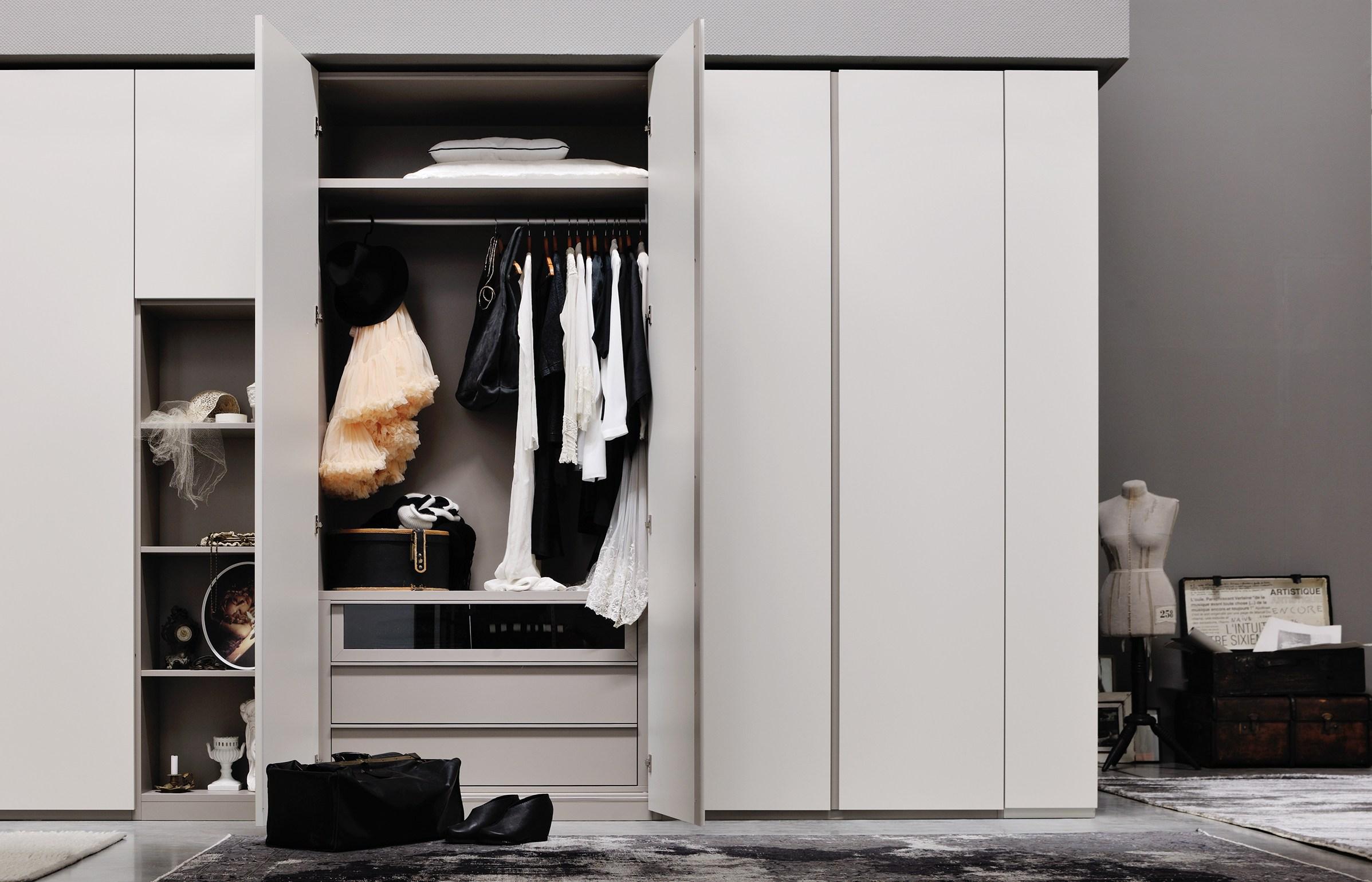 每天都要使用的衣柜,不能将就
