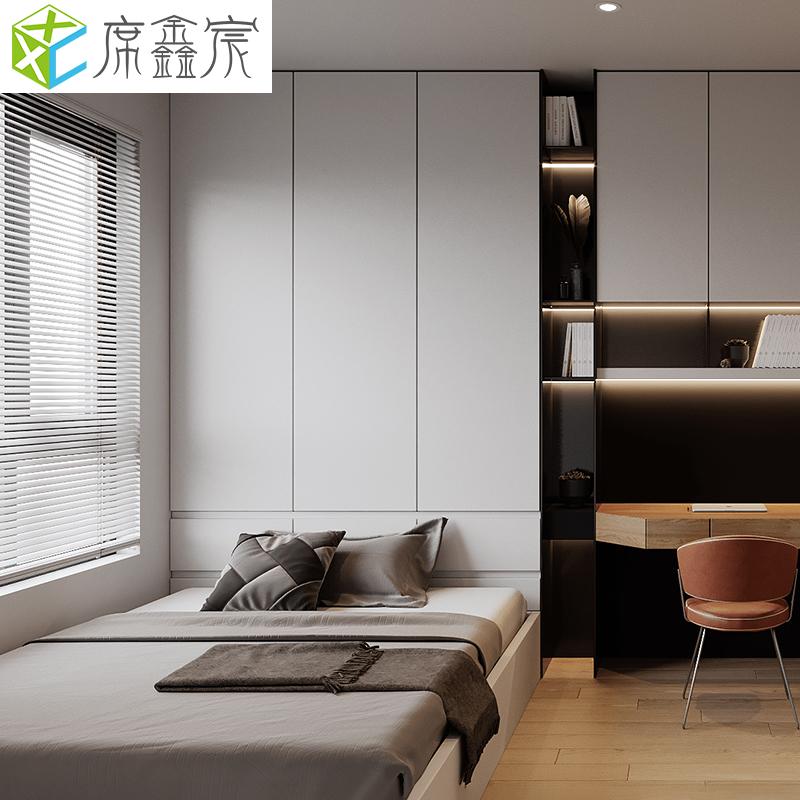 定制榻榻米衣柜床一体现代风格家具